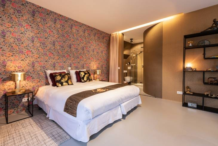 RonReizen hotel Gorinchem Goud&Zilver aanbieding slaapkamer