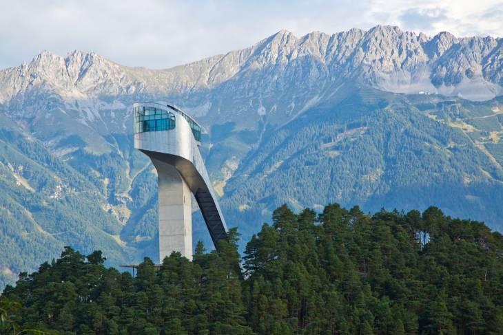 Oostenrijk Innsbruck RonReizen springschans
