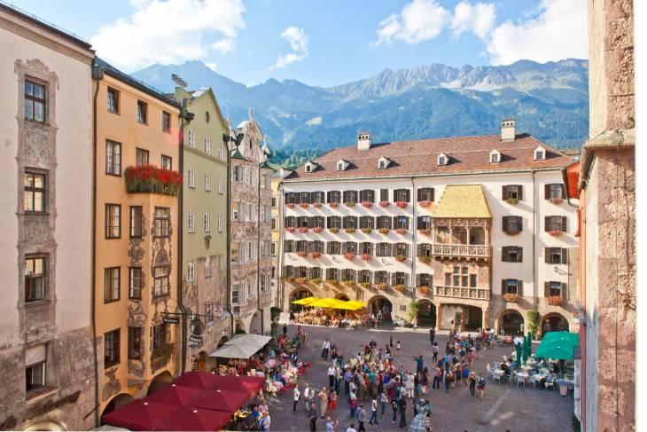 Oostenrijk Innsbruck RonReizen Huis met het Gouden Dak