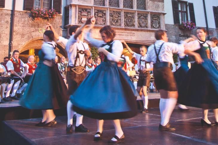Oostenrijk Innsbruck RonReizen dansen
