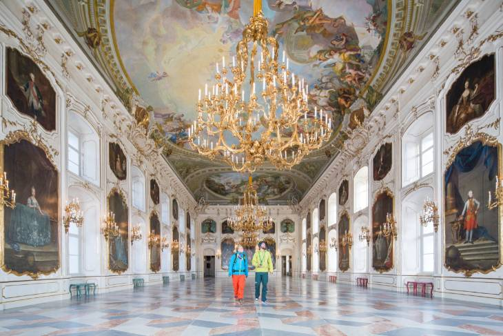 Oostenrijk Innsbruck RonReizen Kaiserliche Hofburg Riesensaal