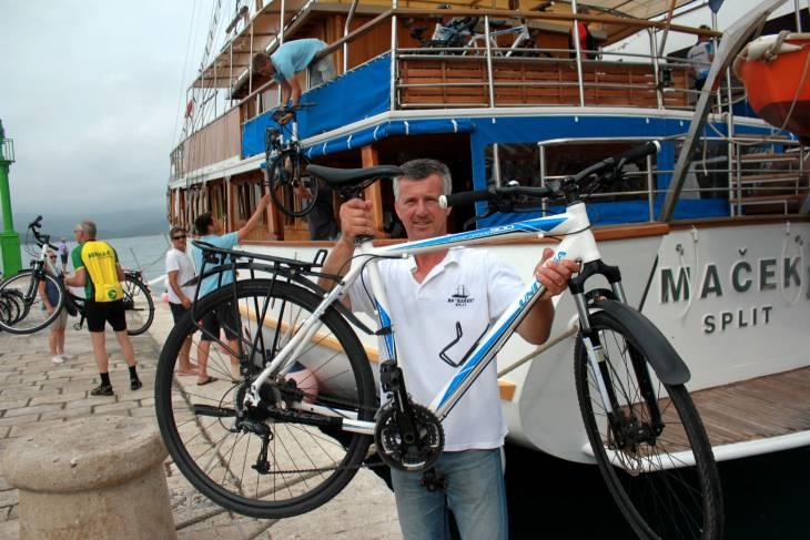 Cruisebaas Selimir Ognjenovic.